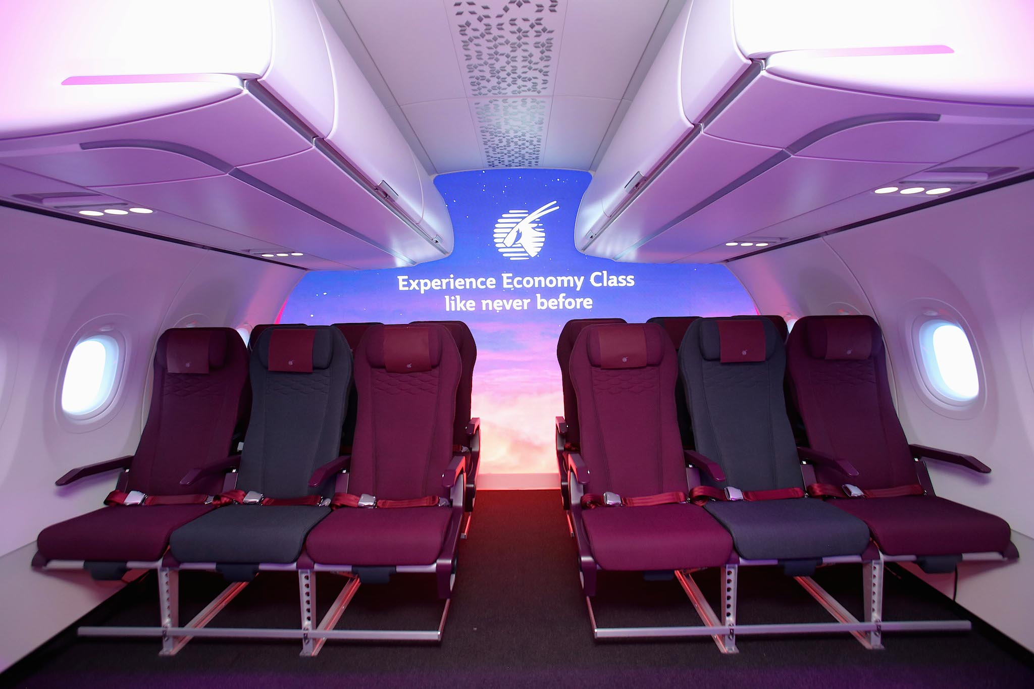 Nouvelle cabine Eco Qatar Airways