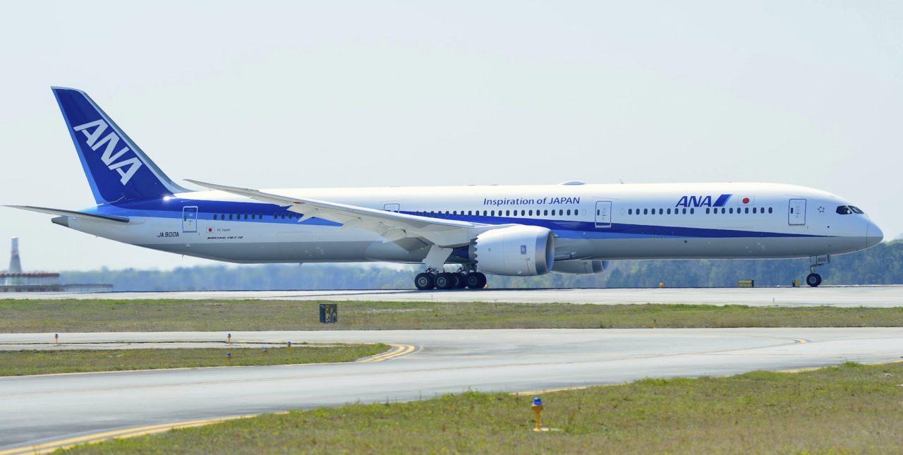 Premier Boeing 787-10 ANA