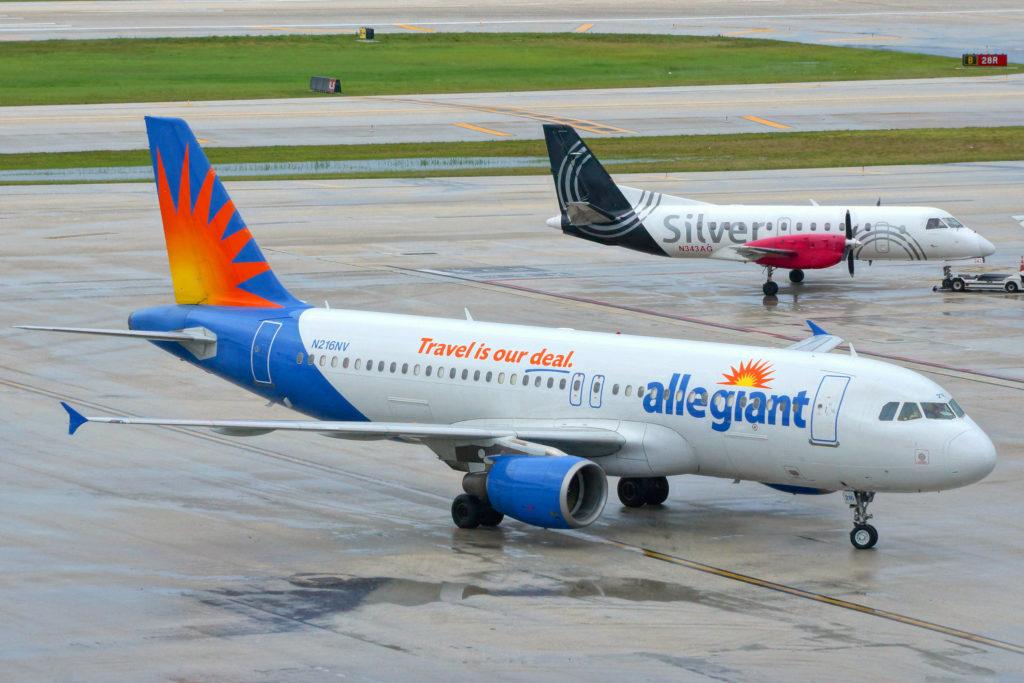A320 Allegiant Air au parking