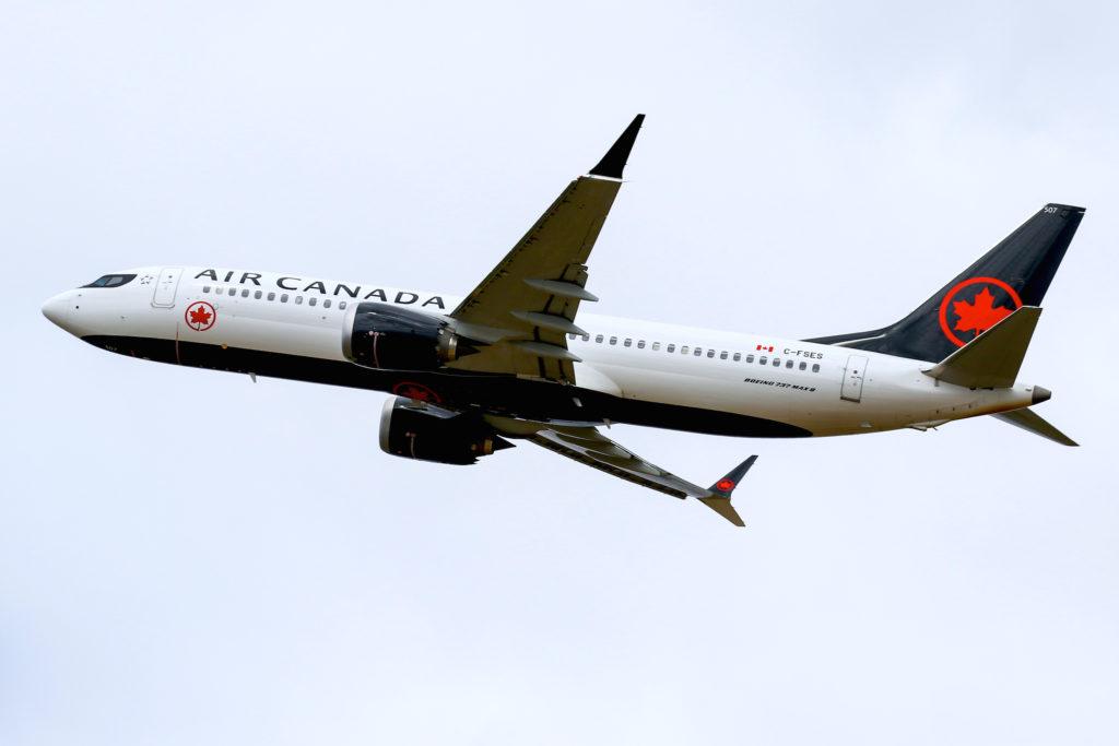 Boeing 737 MAX 8 Air Canada