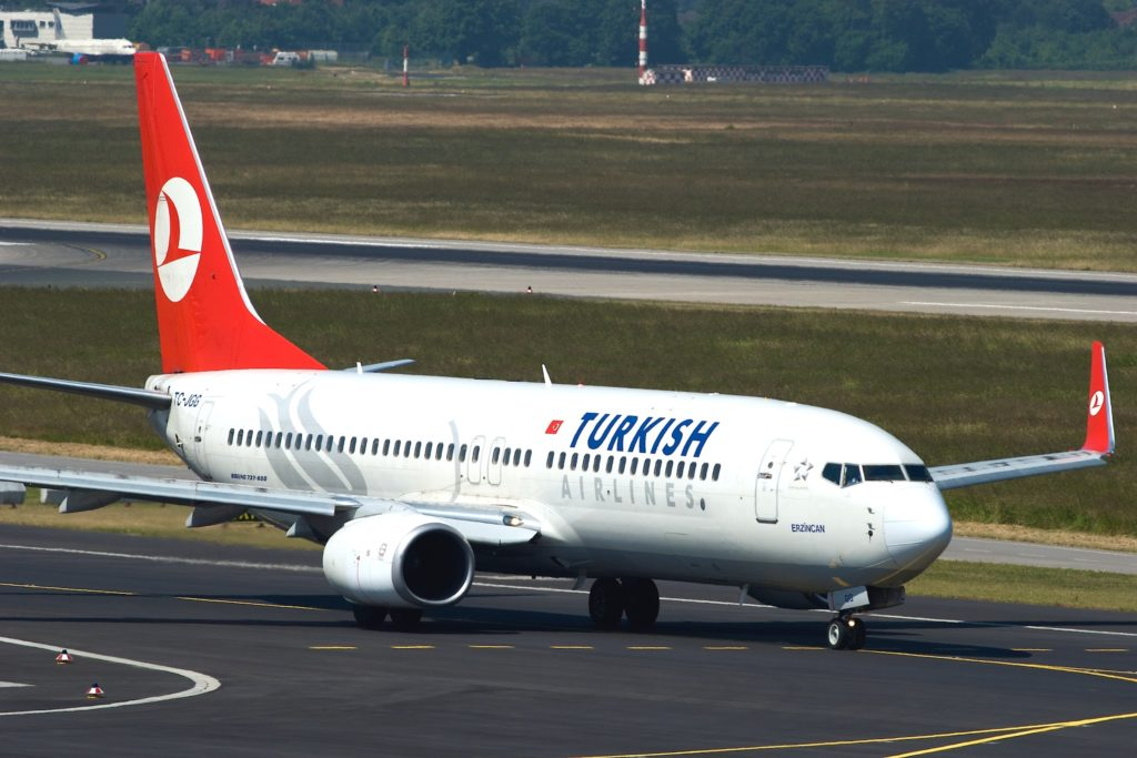 Turkish 737-800 TC-JFY