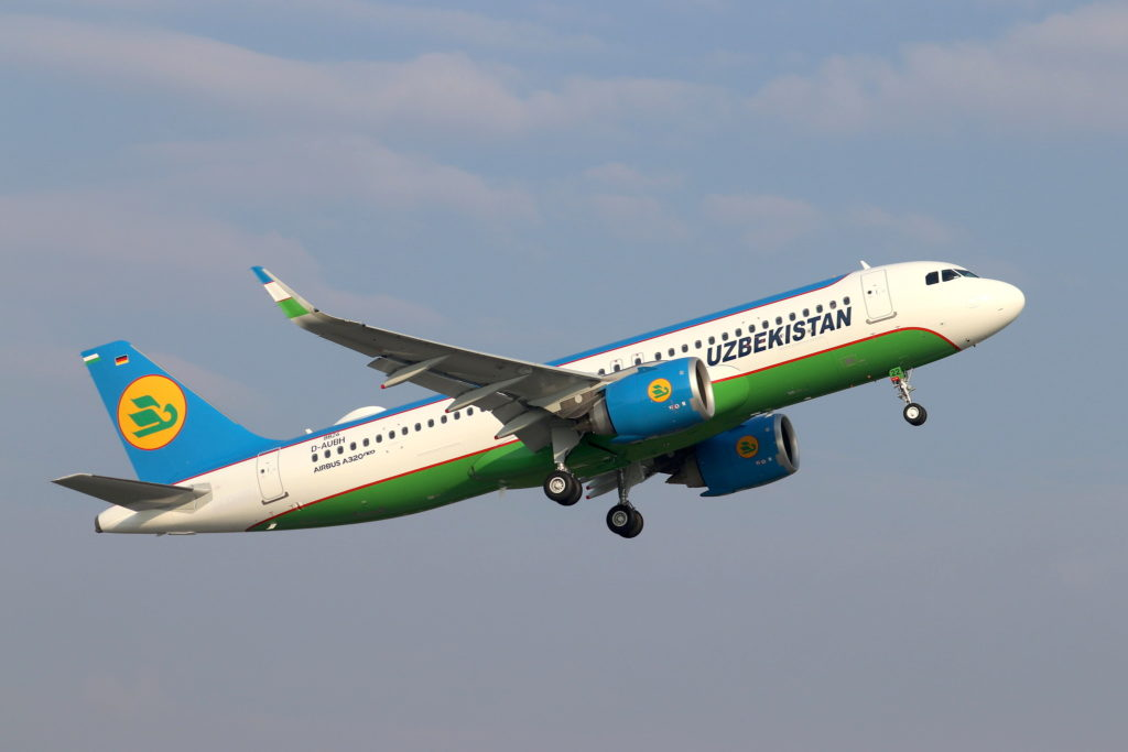 A320neo Uzbekistan Airways / UK-32022