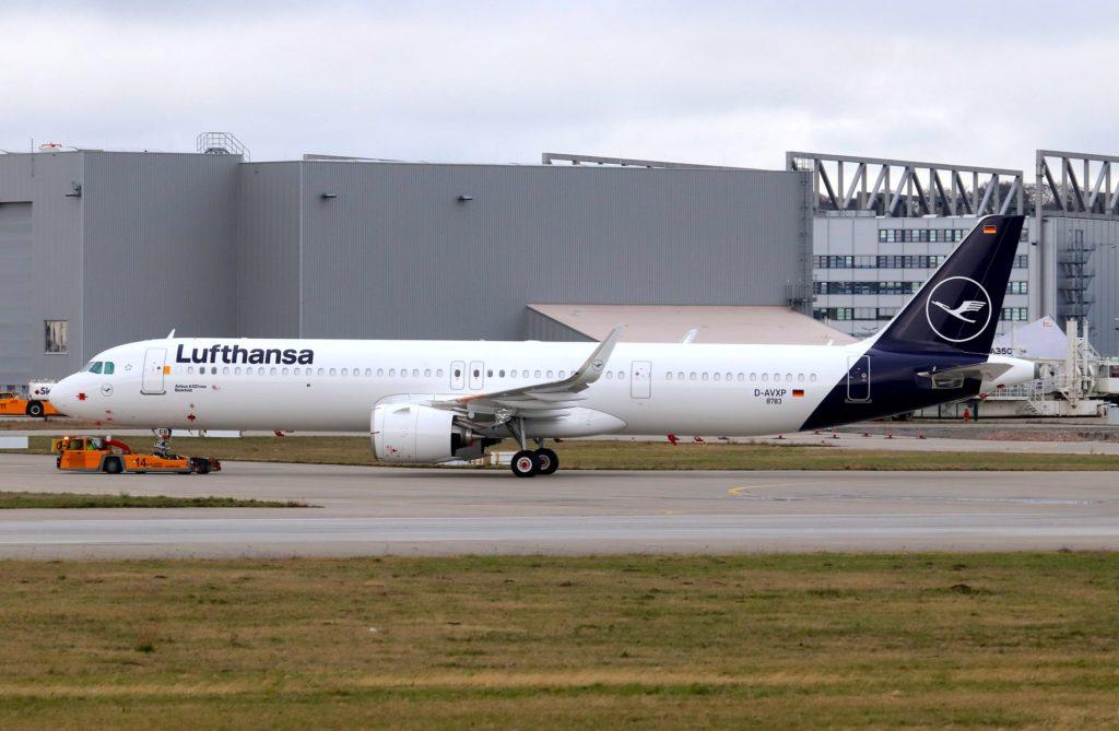 Lufthansa A321neo MSN 8761