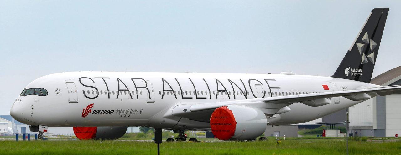 Airbus A350-900 Air China / Star Alliance [MSN311]