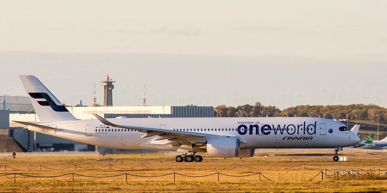 A350-900 Finnair OH-LWB / MSN 019