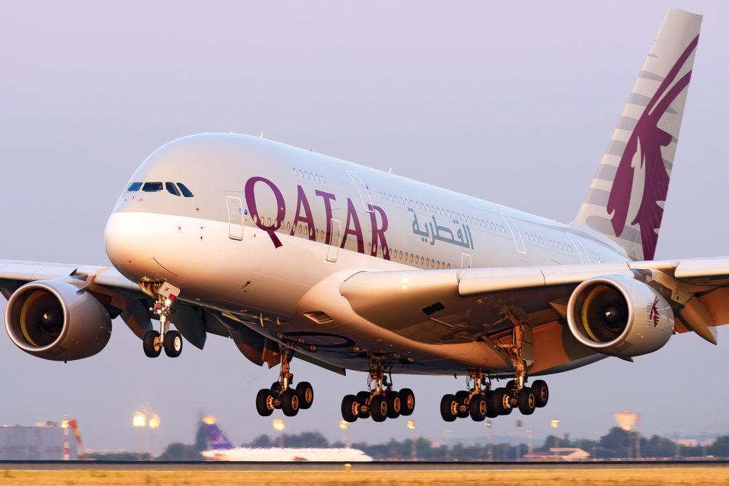 Airbus A380 Qatar A7-APF