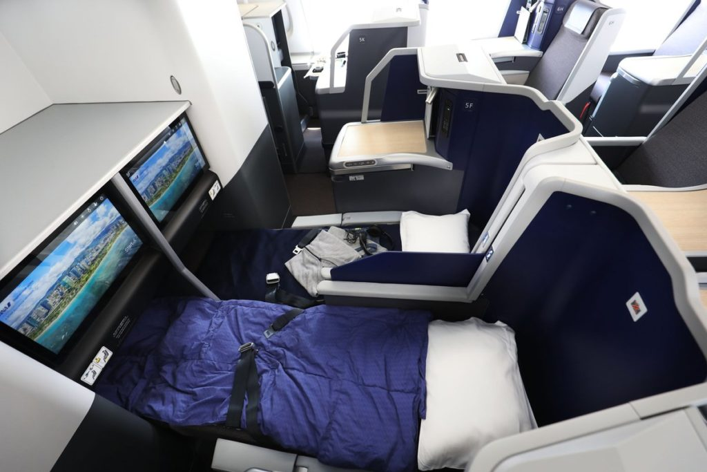 Sièges Business A380 ANA « FLYING HONU »