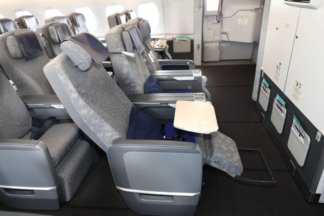 Sièges Premium Éco A380 ANA « FLYING HONU »
