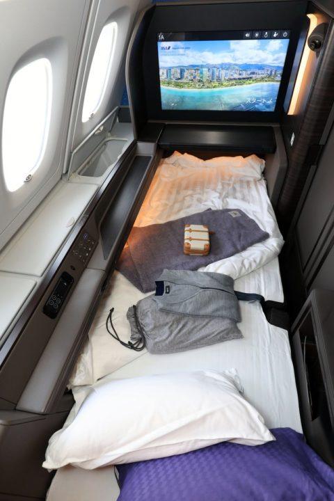Siège Première Classe A380 ANA « FLYING HONU »