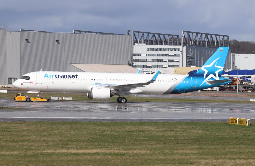 A321neo Air Transat C-GOIE