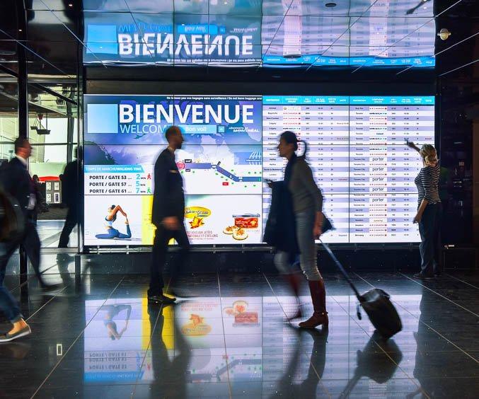 L'aéroport Montréal-Trudeau (YUL)
