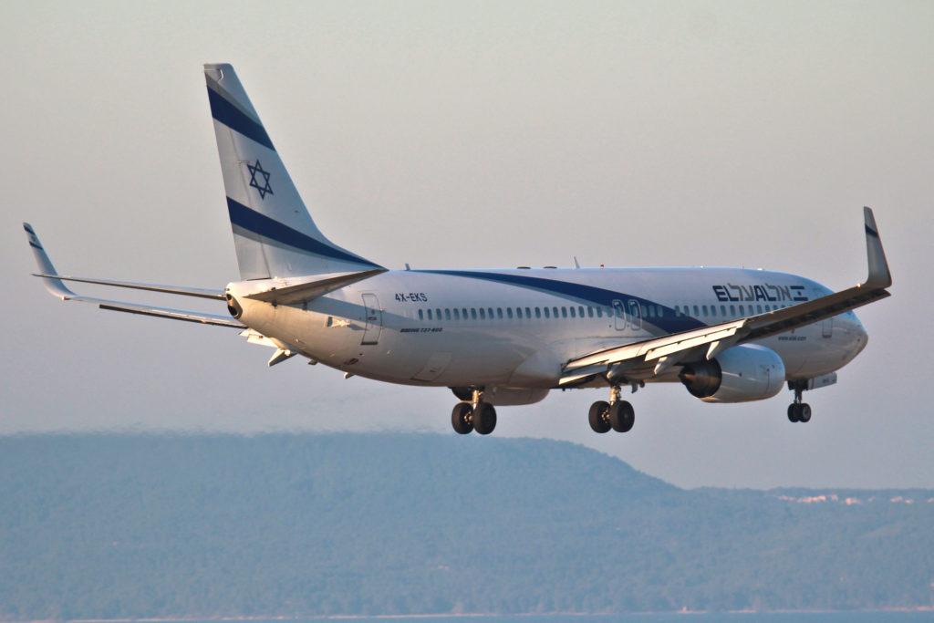 EL AL Boeing 737-800 4X-EKS
