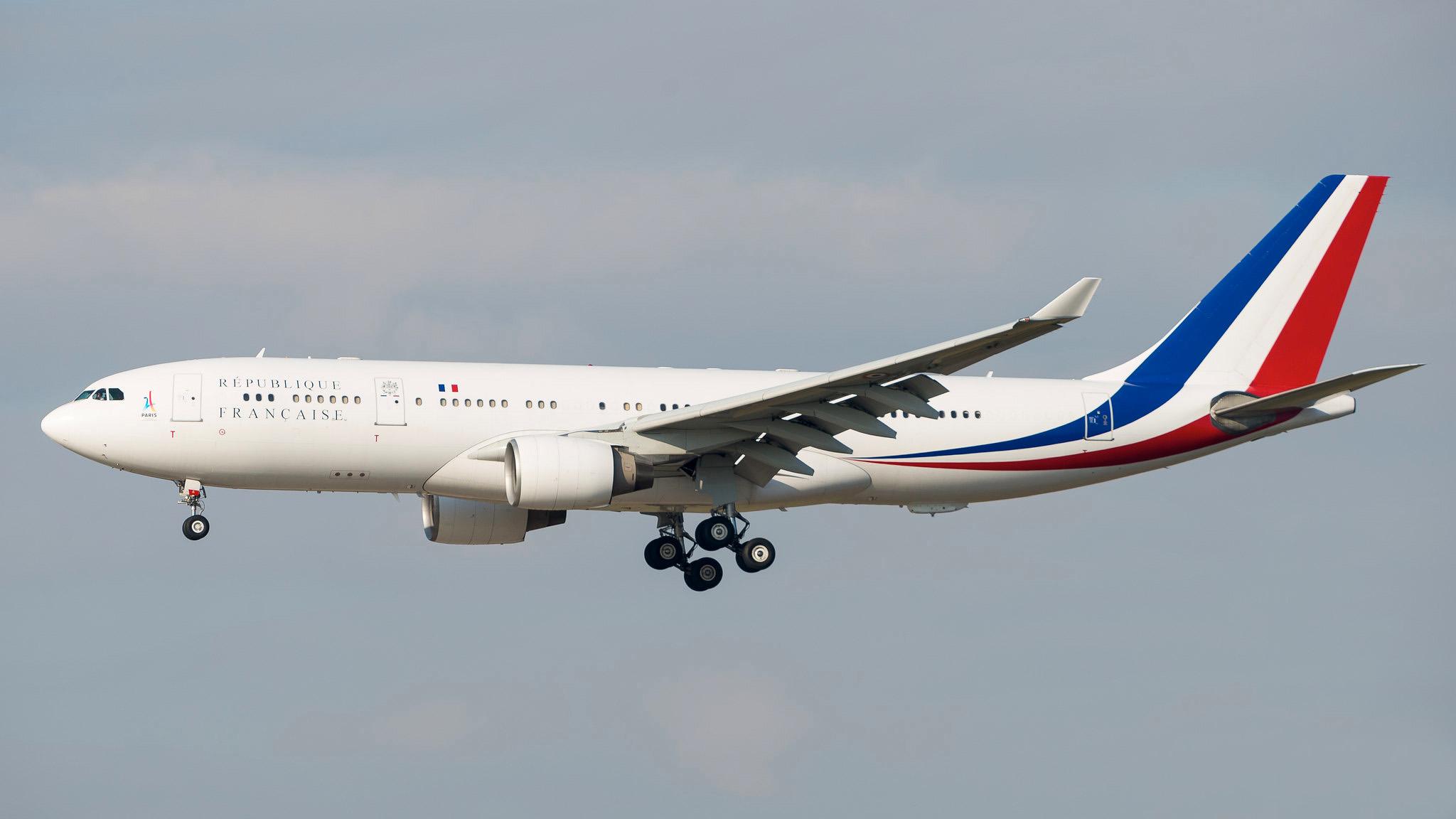 """Airbus A330-200 F-RARF """"Air Sarko One"""""""
