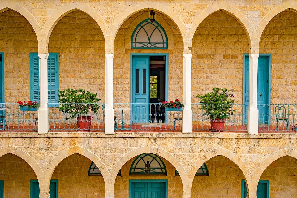 Facade d'un immeuble / Liban