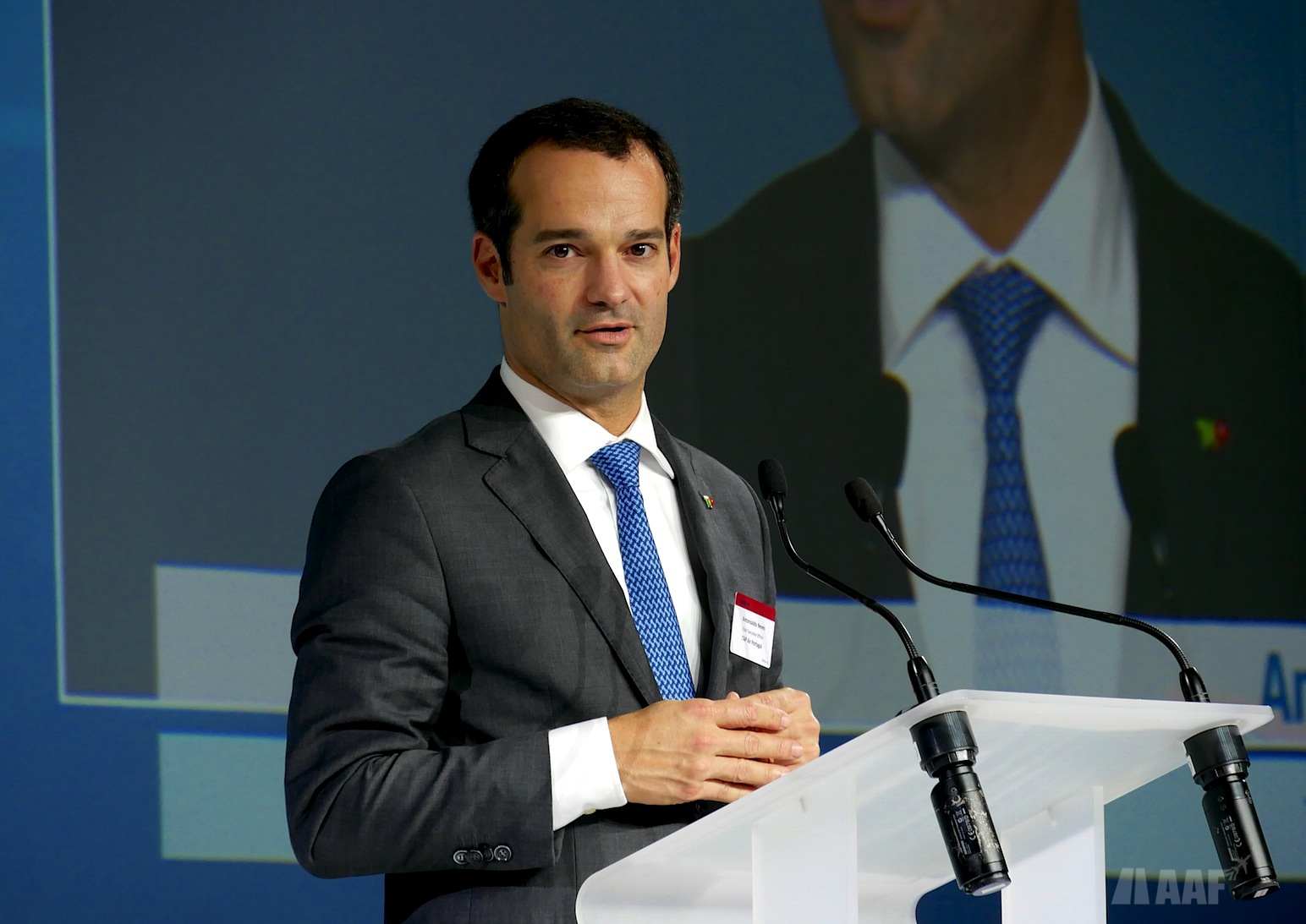 Antonoaldo Neves, CEO de TAP Air Portugal © AAF - reproduction interdite