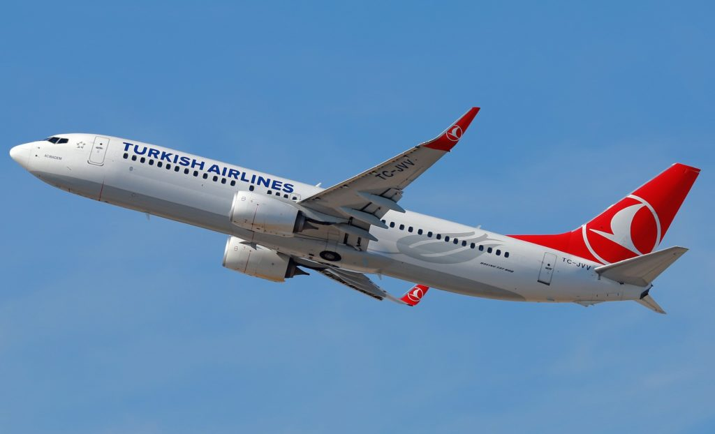 Boeing 737-800 Turkish Airlines TC-JVV
