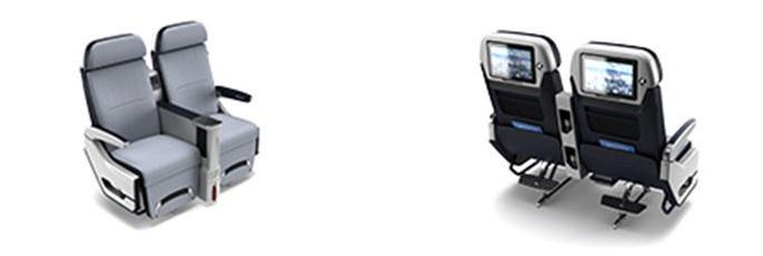Sièges Premium Eco Z535 Safran