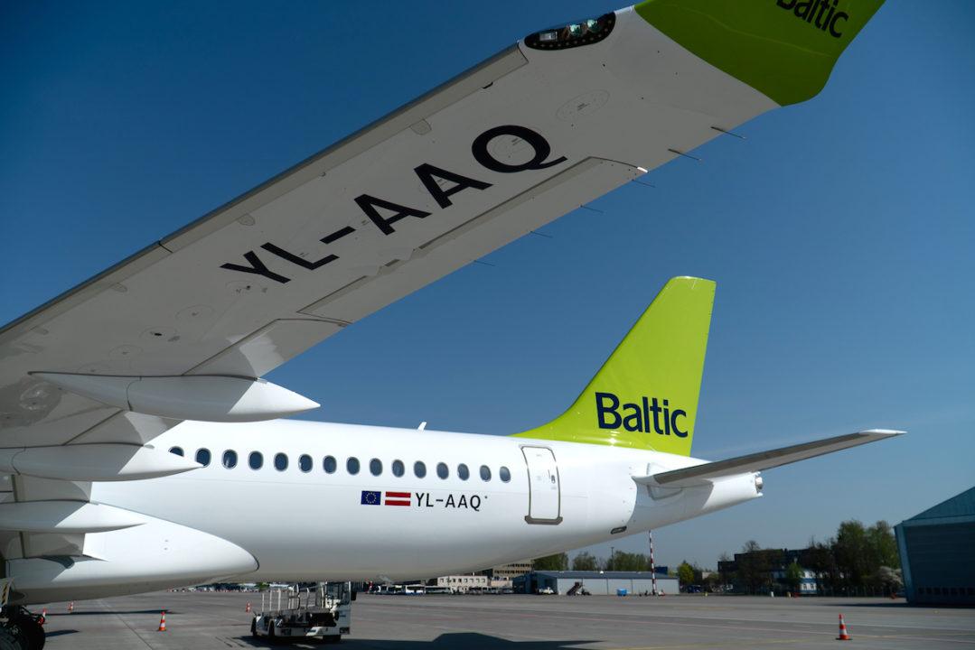 A220-300 airBalic YL-AAQ