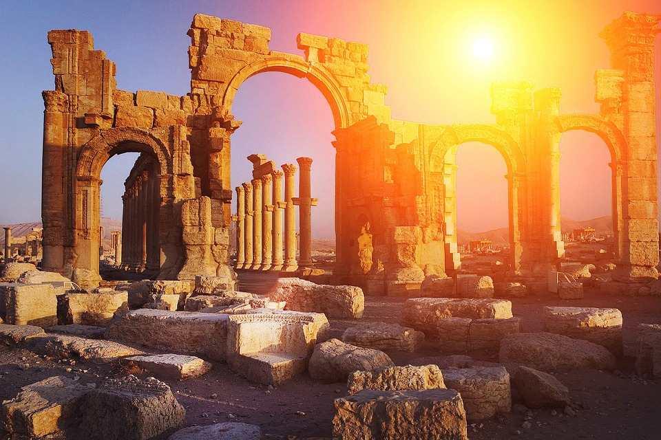 Ruines antiques, Grèce
