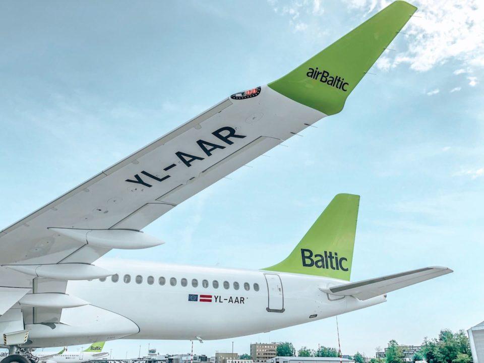 A220-300 airBalic YL-AAR