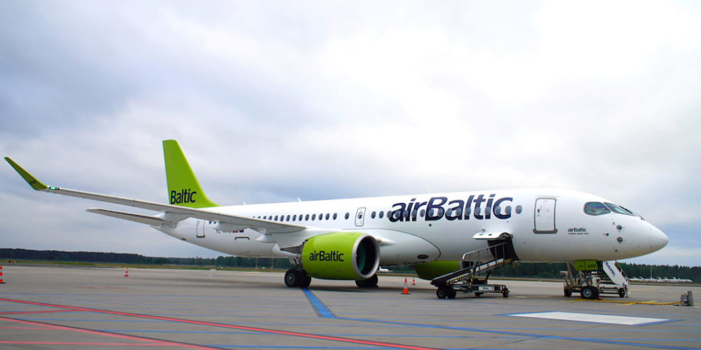 A220-300 airBalic YL-AAS