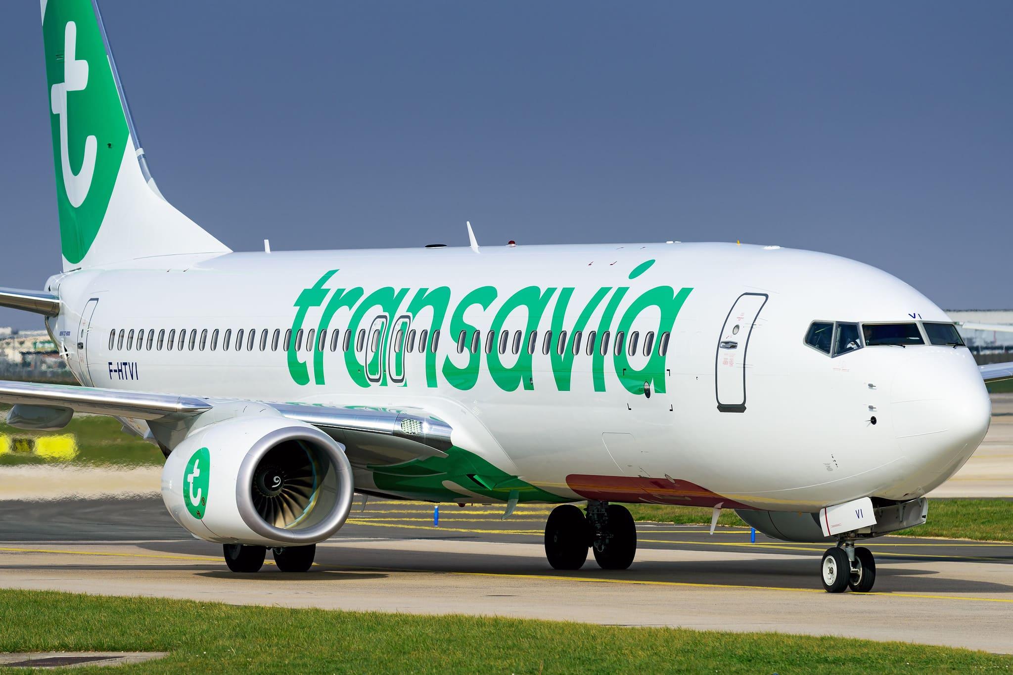Boeing 737-800 Transavia F-HTVI