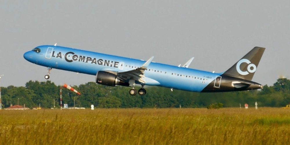 A321neo La Compagnie MSN 8866 / F-HBUZ