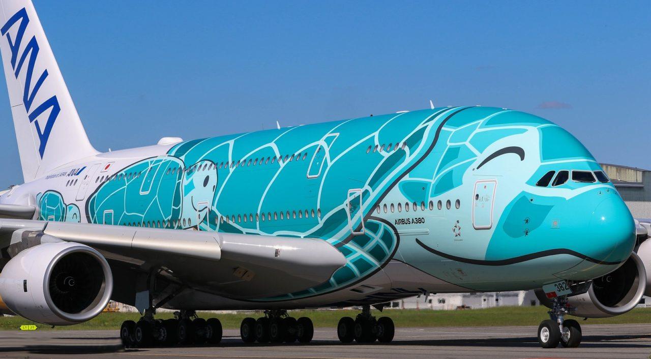 Airbus A380 ANA All Nippon Airways JA382A