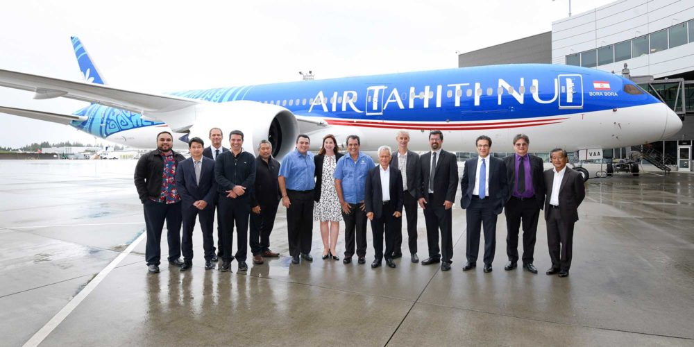 """Boeing 787 Air Tahiti Nui F-OVAA """"Bora-Bora"""""""