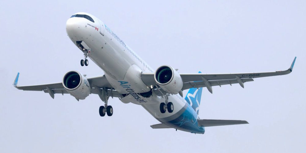 Air Transat A321neo LR