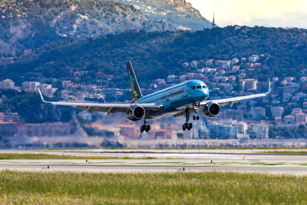 1er vol La Compagnie à Nice