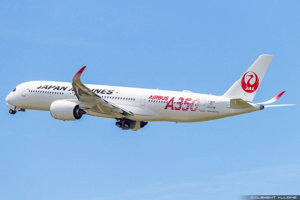 Premier A350 JAL MSN0321