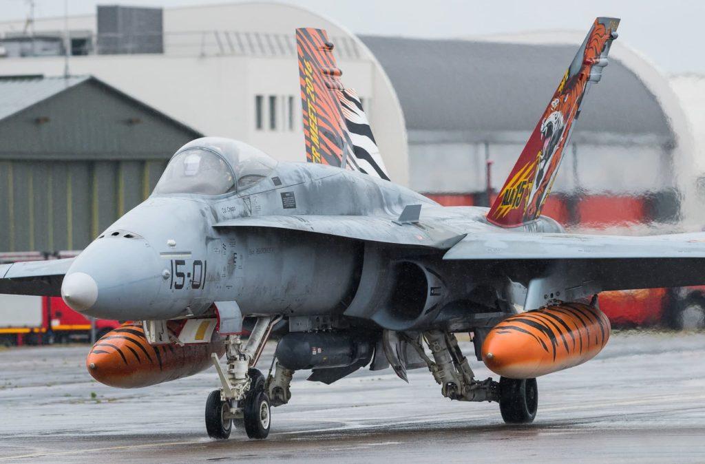 F18 Ejército del aire
