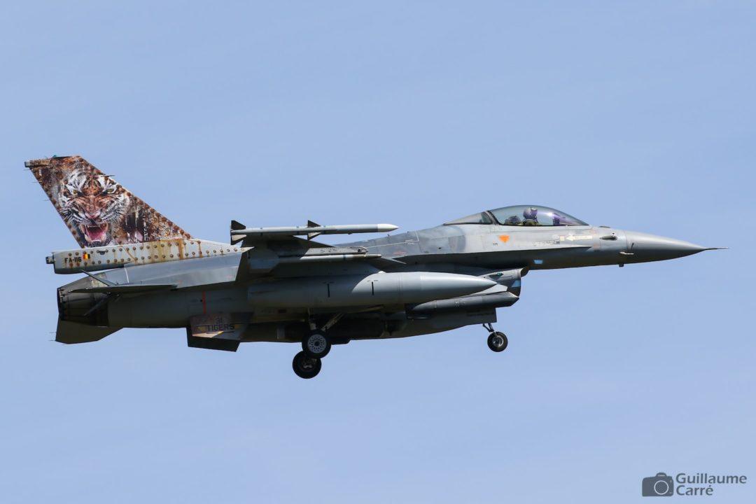 F16 de la Force Aérienne Belge