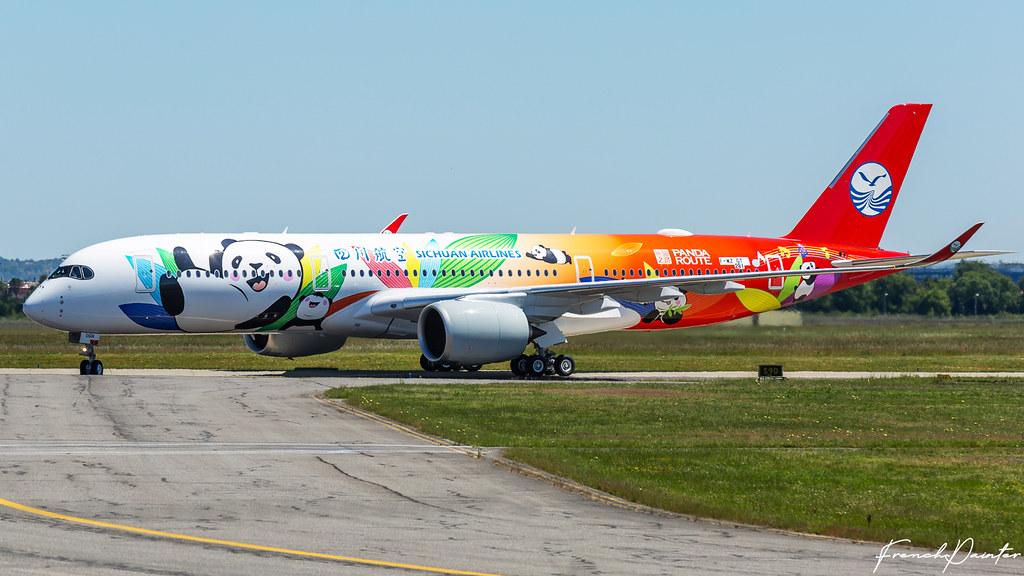 A350-900 Sichuan Airlines [MSN 281] B-306N