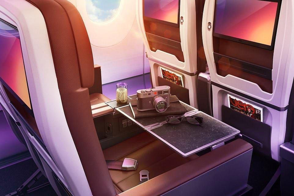 56 sièges Premium en 2-2-2