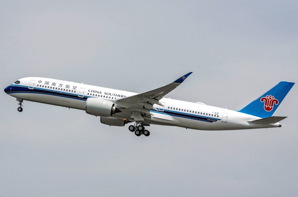 1er A350-900 China Southern Airlines