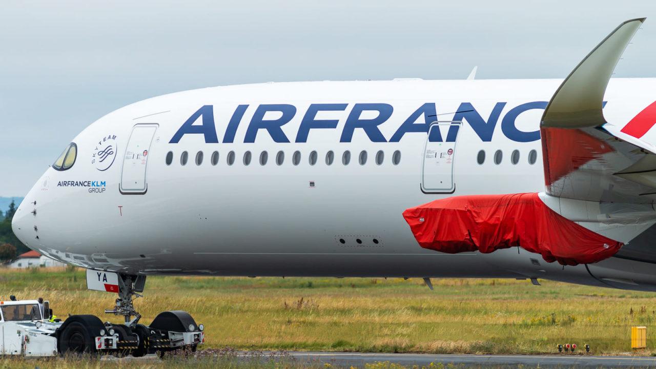 Air France A350-900 [F-HTYA / MSN331 / F-WZFN]
