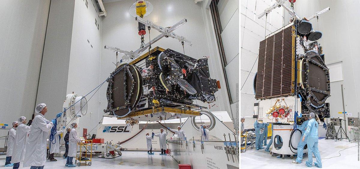 Satellites T-16 et EUTELSAT 7C