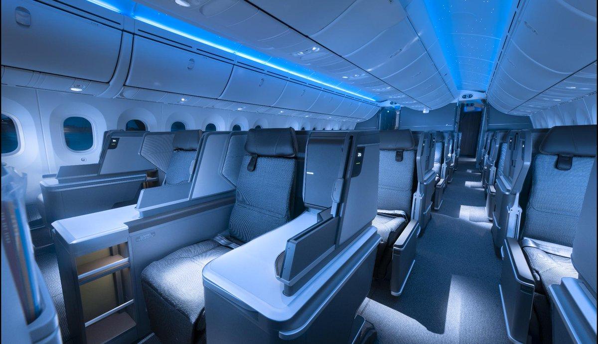 Nouvelle cabine Royal Laurel à bord du B787-10 EVA Air