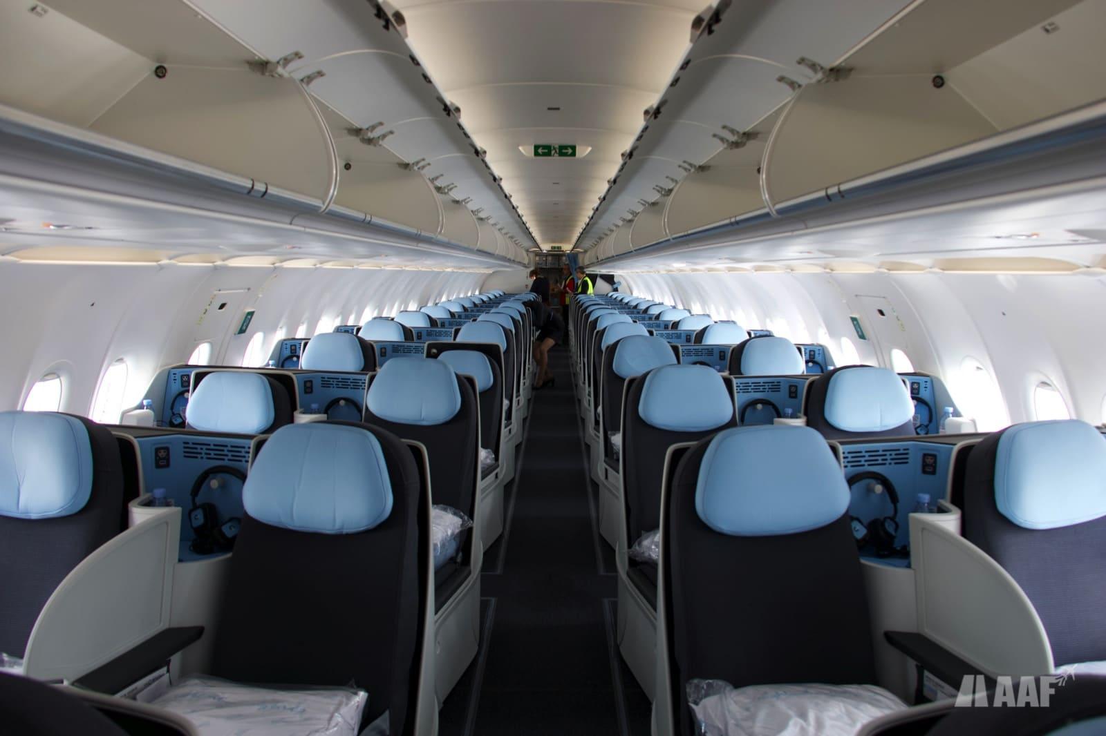 Cabine A321LR La Compagnie