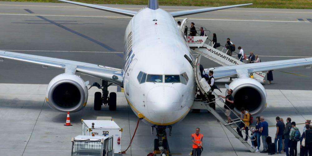 B737 Ryanair à Bordeaux