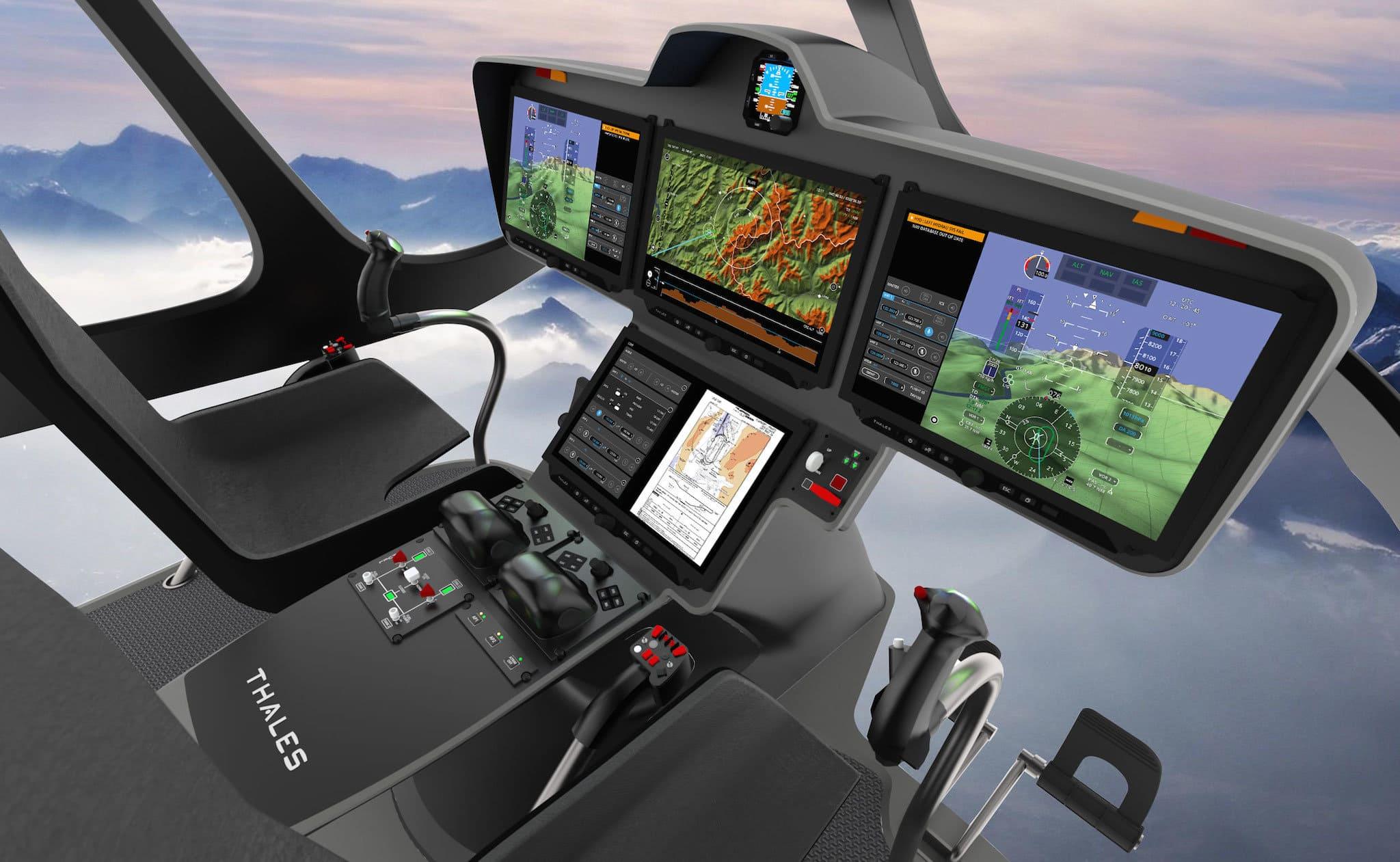 Suite avionique FlytX de Thales