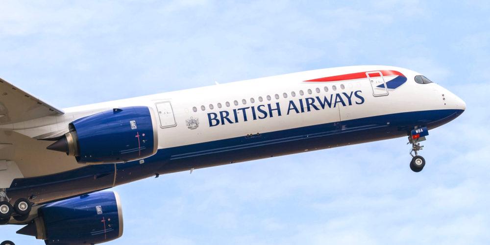 1er Airbus A350- 1000 British Airways [s/n 326 G-XWBA]