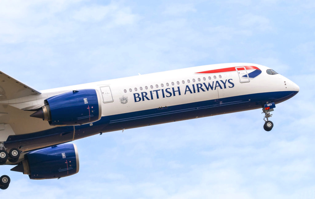 1er Airbus A350- 1000 British Airways [s/n 326 G-XWBA]