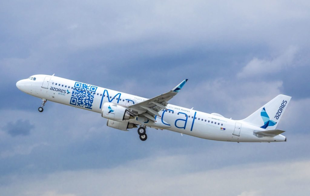 A321neoLR Azores Airlines CS-TSH