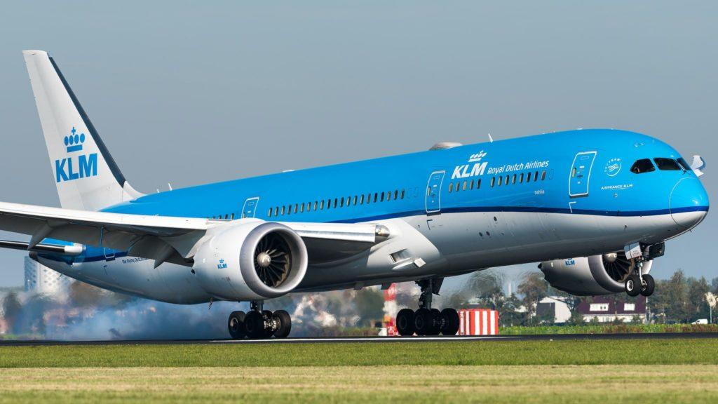Boeing 787-9 KLM PH-BHE