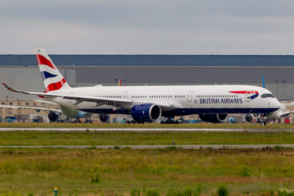 A350- 1000 British Airways s/n 326 G-XWBA