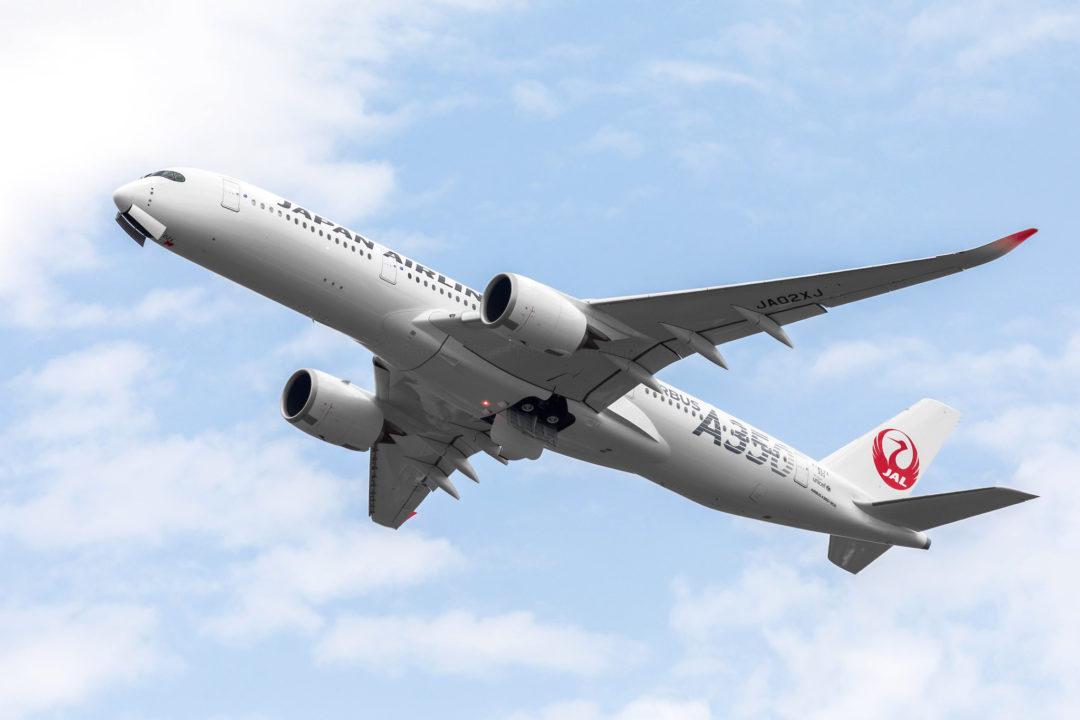 JAL A350-900 JA02XJ [MSN 0333]