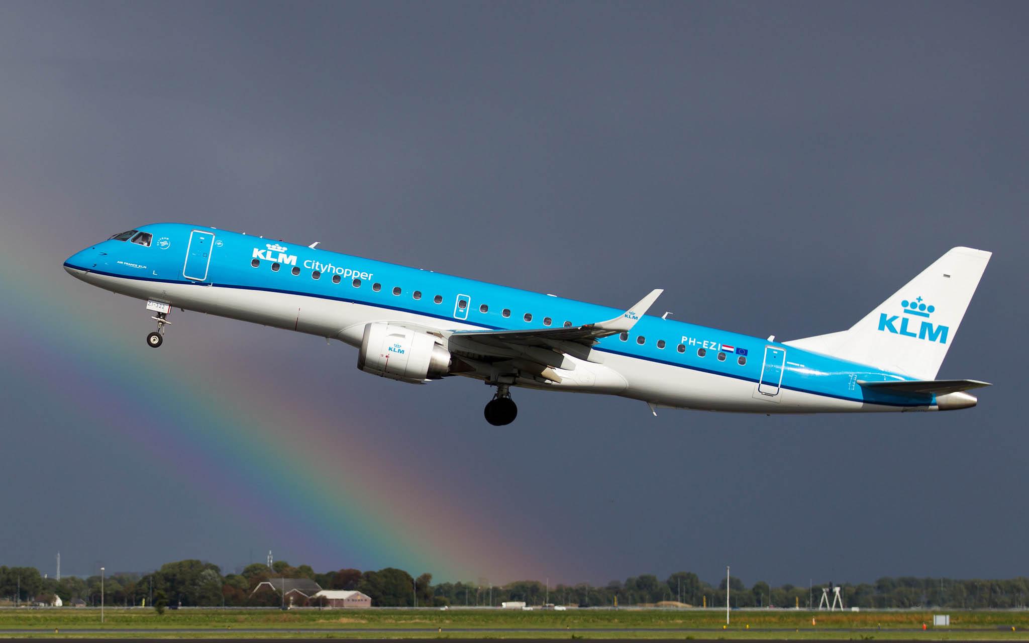 Embraer 190 KLM Cityhopper